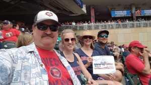 Gunnar attended Minnesota Twins vs. Tampa Bay Rays - MLB on Jun 27th 2019 via VetTix