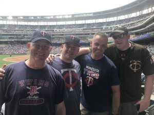 Charles attended Minnesota Twins vs. Tampa Bay Rays - MLB on Jun 27th 2019 via VetTix