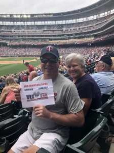 Denny attended Minnesota Twins vs. Tampa Bay Rays - MLB on Jun 27th 2019 via VetTix