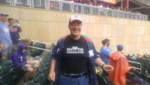 Thomas attended Minnesota Twins vs. Tampa Bay Rays - MLB on Jun 27th 2019 via VetTix