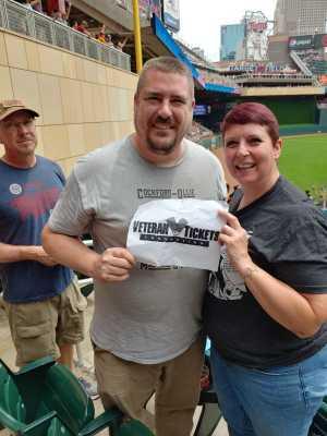 Scott attended Minnesota Twins vs. Tampa Bay Rays - MLB on Jun 27th 2019 via VetTix