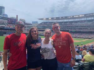 Anna attended Minnesota Twins vs. Tampa Bay Rays - MLB on Jun 27th 2019 via VetTix