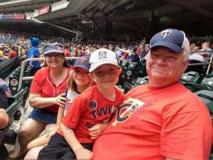 Timothy attended Minnesota Twins vs. Tampa Bay Rays - MLB on Jun 27th 2019 via VetTix