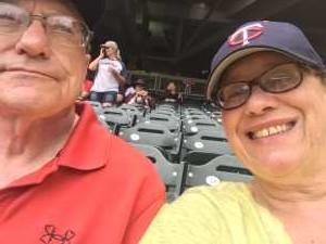 David attended Minnesota Twins vs. Tampa Bay Rays - MLB on Jun 27th 2019 via VetTix