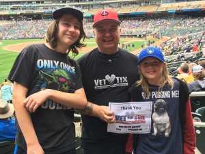 Daniel attended Minnesota Twins vs. Tampa Bay Rays - MLB on Jun 27th 2019 via VetTix
