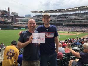 Mac attended Minnesota Twins vs. Tampa Bay Rays - MLB on Jun 27th 2019 via VetTix