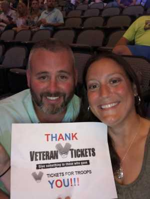 Justin attended Jeff Dunham: Passively Aggressive - Comedy on Jun 21st 2019 via VetTix