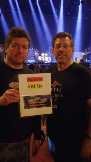 greg attended Judas Priest on May 22nd 2019 via VetTix