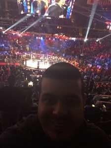 Johnny attended Bellator 222 - Machida vs. Sonnen - Live Mixed Martial Arts - Presented by Bellator MMA on Jun 14th 2019 via VetTix