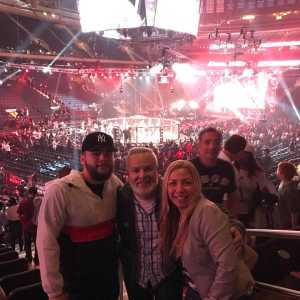 Fredy attended Bellator 222 - Machida vs. Sonnen - Live Mixed Martial Arts - Presented by Bellator MMA on Jun 14th 2019 via VetTix