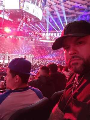 Israel attended Bellator 222 - Machida vs. Sonnen - Live Mixed Martial Arts - Presented by Bellator MMA on Jun 14th 2019 via VetTix