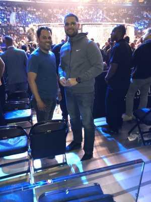 Francis attended Bellator 222 - Machida vs. Sonnen - Live Mixed Martial Arts - Presented by Bellator MMA on Jun 14th 2019 via VetTix