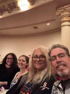 Patrick attended A Symphonic Centennial Celebration featuring Berlioz, Dvorak, Copland, Sousa and a World Premiere by Stephenson on May 29th 2019 via VetTix