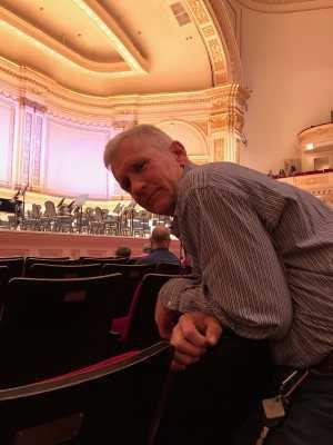 roy attended A Symphonic Centennial Celebration featuring Berlioz, Dvorak, Copland, Sousa and a World Premiere by Stephenson on May 29th 2019 via VetTix
