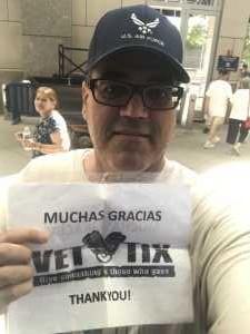 EDWIN attended New York Yankees vs. Toronto Blue Jays - MLB on Jun 26th 2019 via VetTix