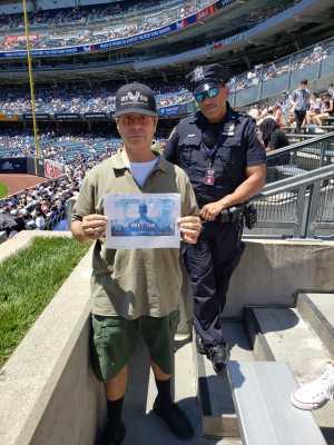 JOSEPH attended New York Yankees vs. Toronto Blue Jays - MLB on Jun 26th 2019 via VetTix