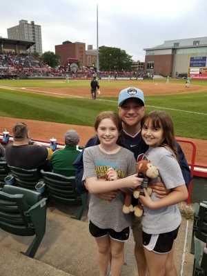 Craig attended Erie Seawolves vs. Hartford Yard Goats - MiLB - Military Appreciation Night on Jun 14th 2019 via VetTix