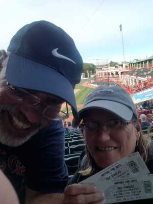Alfred attended Erie Seawolves vs. Hartford Yard Goats - MiLB - Military Appreciation Night on Jun 14th 2019 via VetTix