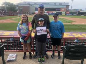 Joel attended Erie Seawolves vs. Hartford Yard Goats - MiLB - Military Appreciation Night on Jun 14th 2019 via VetTix
