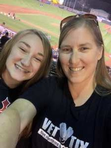 Michelle attended Erie Seawolves vs. Hartford Yard Goats - MiLB - Military Appreciation Night on Jun 14th 2019 via VetTix