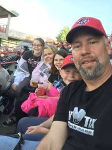 Sean attended Erie Seawolves vs. Hartford Yard Goats - MiLB - Military Appreciation Night on Jun 14th 2019 via VetTix