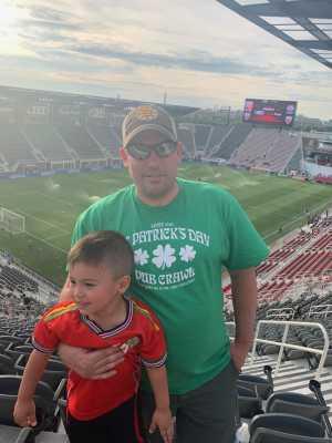 david attended DC United vs. Chicago Fire - MLS on May 29th 2019 via VetTix