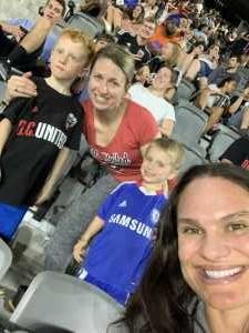 Kristen attended DC United vs. Chicago Fire - MLS on May 29th 2019 via VetTix