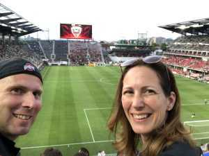 Kevin attended DC United vs. Chicago Fire - MLS on May 29th 2019 via VetTix