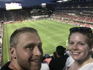 Abee attended DC United vs. Chicago Fire - MLS on May 29th 2019 via VetTix