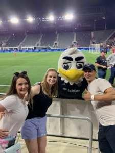 Ikrom attended DC United vs. Chicago Fire - MLS on May 29th 2019 via VetTix