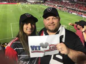 Dale attended DC United vs. Chicago Fire - MLS on May 29th 2019 via VetTix