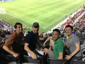 Craig attended DC United vs. Chicago Fire - MLS on May 29th 2019 via VetTix