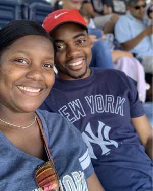 Kia attended New York Yankees vs. San Diego Padres - MLB on May 27th 2019 via VetTix