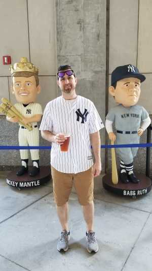 Derek attended New York Yankees vs. San Diego Padres - MLB on May 27th 2019 via VetTix