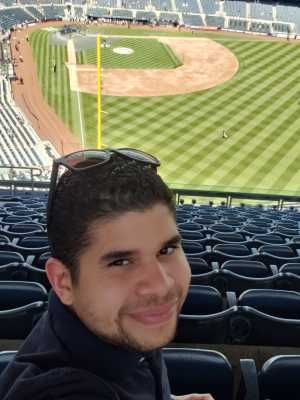 Luis Cruz attended New York Yankees vs. San Diego Padres - MLB on May 27th 2019 via VetTix