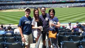 Kenneth attended New York Yankees vs. San Diego Padres - MLB on May 27th 2019 via VetTix