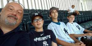 Otto attended New York Yankees vs. San Diego Padres - MLB on May 27th 2019 via VetTix