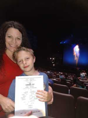 Brenda attended THE LIGHTNING THIEF, The Percy Jackson Musical - 1 ticket per group of 4 on May 31st 2019 via VetTix