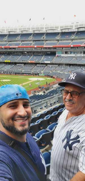 Robert attended New York Yankees vs. Tampa Bay Rays - MLB on Jun 19th 2019 via VetTix