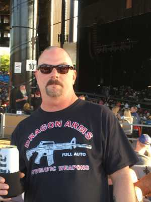 PAUL attended Sammy Hagar: Full Circle Jam - Pop on Jun 7th 2019 via VetTix