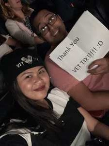Andre Jay attended Pentatonix: the World Tour With Special Guest Rachel Platten - Pop on Jun 6th 2019 via VetTix