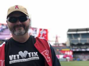 David attended Los Angeles Angels vs. Texas Rangers - MLB on May 26th 2019 via VetTix