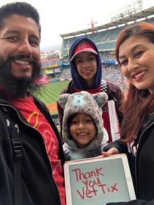 Anthony attended Los Angeles Angels vs. Texas Rangers - MLB on May 26th 2019 via VetTix