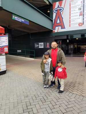 Orlando attended Los Angeles Angels vs. Texas Rangers - MLB on May 26th 2019 via VetTix