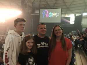 Kyle attended Pentatonix: the World Tour With Special Guest Rachel Platten - Pop on Jul 3rd 2019 via VetTix