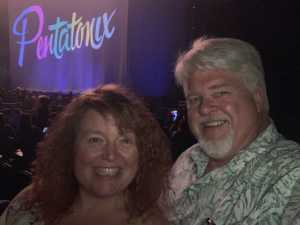 Thanks Vettix for Pentatonix tickets  attended Pentatonix: the World Tour With Special Guest Rachel Platten - Pop on Jul 3rd 2019 via VetTix