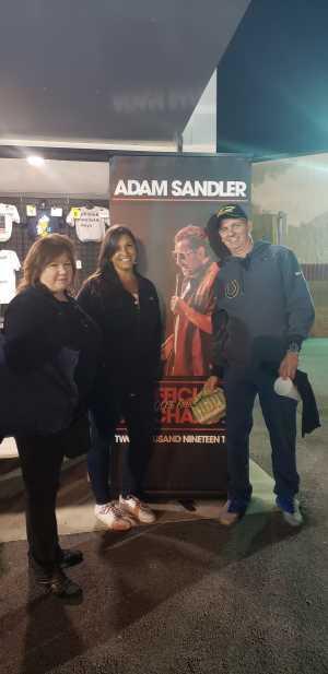 Gerald attended Adam Sandler - Comedy on Jun 1st 2019 via VetTix