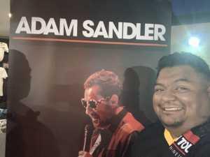 Gremlin attended Adam Sandler - Comedy on Jun 1st 2019 via VetTix