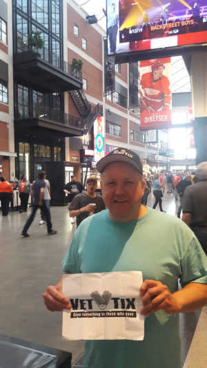 John attended The Who: Moving on - Pop on May 28th 2019 via VetTix