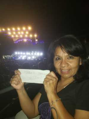 Laura attended The Who: Moving on - Pop on May 28th 2019 via VetTix